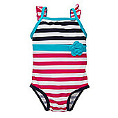 Striped Swimsuit - Multi