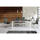 Wilkinson Furniture Mobo Extending Table - Grey - Medium