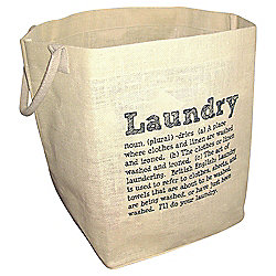 Dictionary Laundry Bag