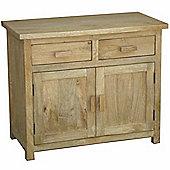 Homescapes Oak Shade Mangat Small Sideboard