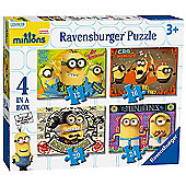 Ravensburger Minions Movie 4 in a box Jigsaw Puzzles