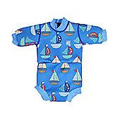 Splash About Baby Snug Mini Wetsuit - Set Sail - Blue