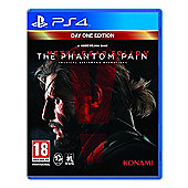 Metal Gear Solid V: The Phantom Pain PS4 – Plus Free Copy Of MGSV: Ground Zero's (Digital Code) With Every Pre-Order