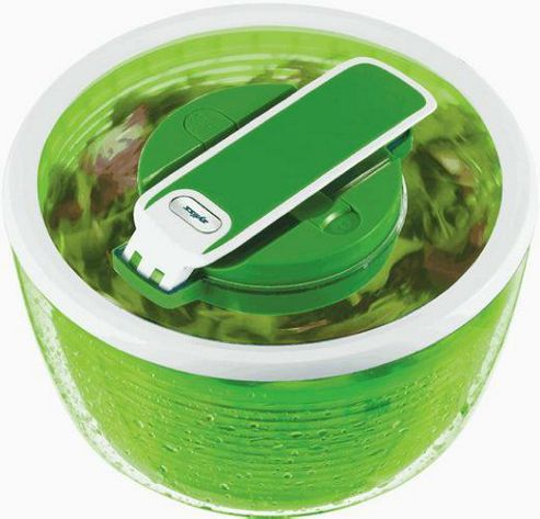 Zyliss Smart Touch Salad Spinner Green - 260 mm. dia