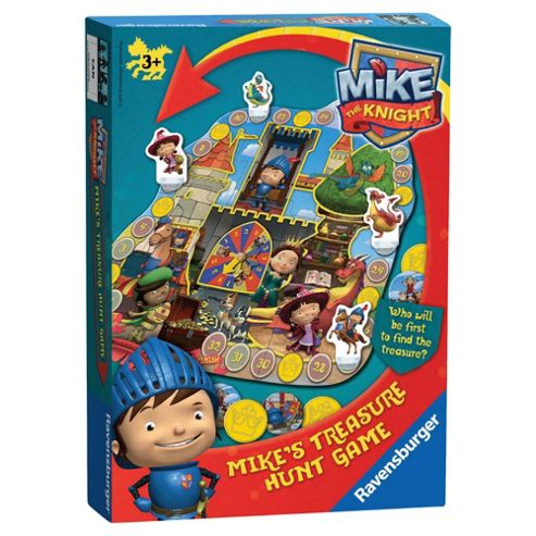 Ravensburger Mike the Knight Treasure Hunt Game
