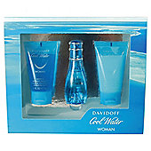 Davidoff Coolwater 30ml EDT Spray, 50ml Shower Gel & 50ml Body Lotion Gift Set