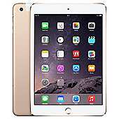 iPad mini 3, 128GB, WiFi & 4G LTE (Cellular) - Gold