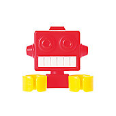 PresentTime Robot Toothbrush Holder - Red