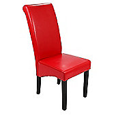 Dorchester Red Dining Chair