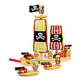 Bigjigs Toys BJ338 Pirate Ship