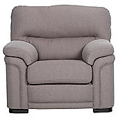 Sherringham Fabric High Back Armchair Taupe