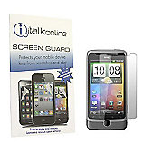 S-Protect LCD Screen Protector & Micro Fibre Cleaning Cloth - HTC Desire Z