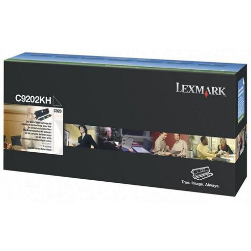 Lexmark Black Toner Cartridge (Yield 15,000 Pages) for C920 Printer