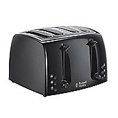 Russell Hobbs 21651 Textures 4 Slice Toaster - Black