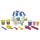 Play-Doh Ice Cream Sundae Cart