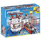 Playmobil 5539 Coast Guard Station with Lighthouse