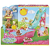 Chelsea Pet Pool Party Doll And Playset