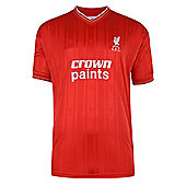 Liverpool 1986 Home Shirt Red & White XL
