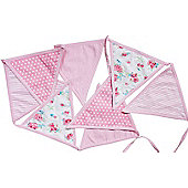 Girls Bedroom Bunting - Pink
