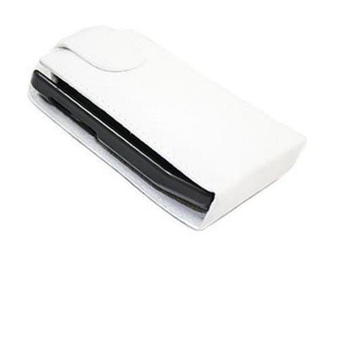 White FlipMatic Easy Clip On Vertical Pouch Case - HTC Hero G3