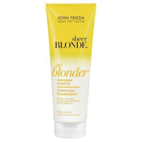 John Frieda Sheer Blonde Go Blonder Lightening Shampoo 250ml
