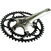 Stronglight Z'Light Compact Chainset: 34/48T Silver 170mm.