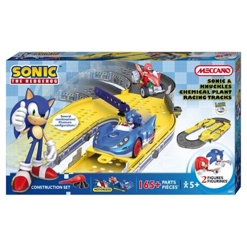 Meccano Sonic The Hedgehog - Sonic and Knuckles Chemical Plant Racing Playset