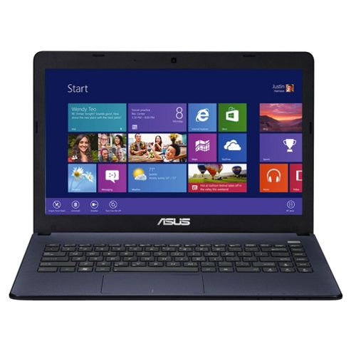 Asus X401A-WX350H Laptop, Intel Core i3, 4GB RAM, 500GB, Windows 8, 15.6 inch, Black