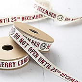 Christmas Ribbon - Do Not Open
