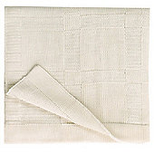 Natures Purest Basics - Hug Me Bamboo Knitted Baby Blanket (75x100cm)