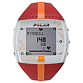 Polar FT7 Heart Rate Monitor, Red/Orange