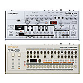 Roland Boutique Drum And Bass Synth Collection - Includes Roland TB-03, TR-09 & JB's Midi Lead