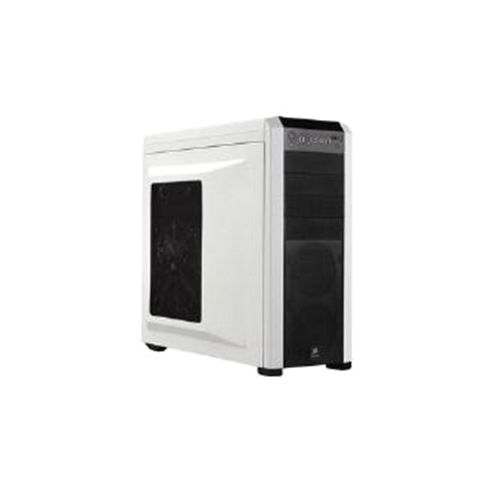 Corsair Microsystems Carbide Series 500R Mid Tower Gaming Case White