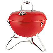 Tesco Retro Portable Charcoal BBQ, Red