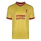 Liverpool 1986 Away Shirt - Yellow