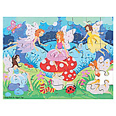 Bigjigs Toys Enchanted Fairies Puzzle (48 Piece)