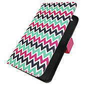 Tesco hudl 2 Folio Tablet Case - Central Park (Green, red and black)
