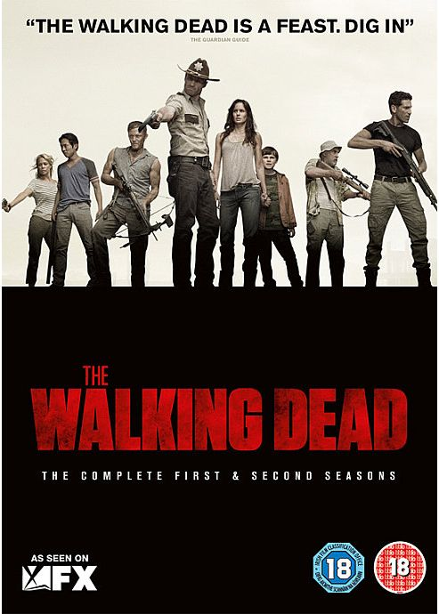 Walking Dead Season 1-2 (DVD Boxset)