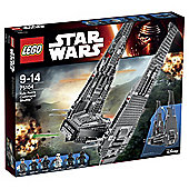 LEGO Star Wars Kylo Rens Command Shuttle75104