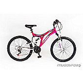"Muddyfox Phoenix 24"" Kids' Dual Suspension Mountain Bike"