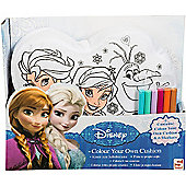 Disney Frozen Colour Your Own Cushion