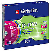 Verbatim CD-RW Colour