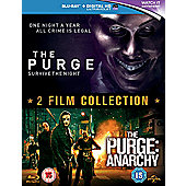 The Purge/The Purge Anarchy Blu-Ray Boxset
