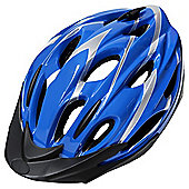 Tesco Adult Helmet Blue 54-58cm