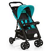 Hauck Shopper Comfortfold Stroller (Black/Aqua)