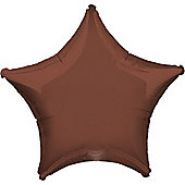 19' Chocolate Brown Star (each)