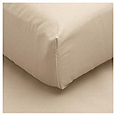 Tesco Fitted Sheet Single Sand