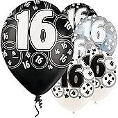 16th 12' Latex Balloons (6pk)