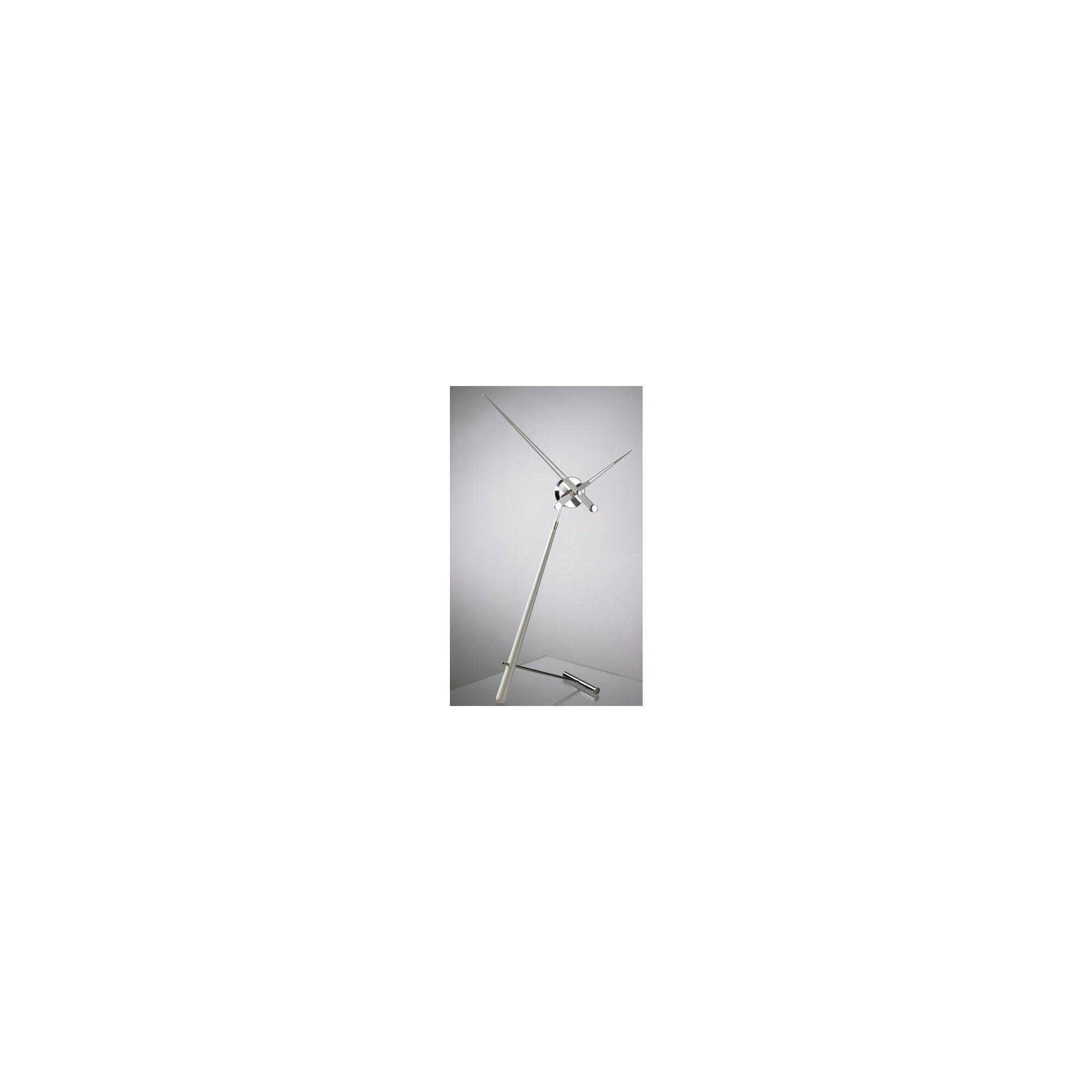 NOMON Puntero L Clock - White Lacquered at Tesco Direct
