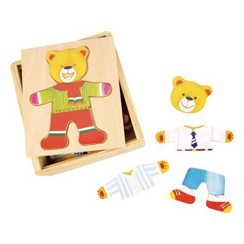 Bigjigs Toys BJ765 Wooden Dress Up Mr Bear